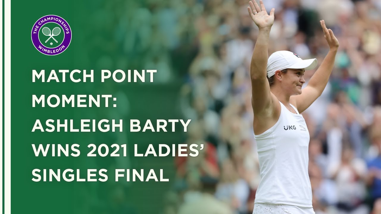 Ashleigh Barty Wins Ladies' Singles Title | Wimbledon 2021