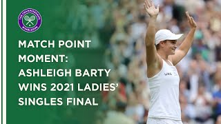 Ashleigh Barty Wins Ladies' Singles Title