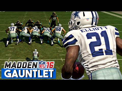 ... Elliott HIGHLIGHT TOUCHDOWNS! - Madden 16 Gauntlet Gameplay - YouTube