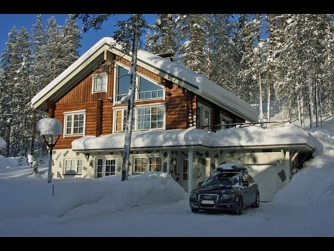 #L0231. Finland cottages & cabins: Holiday ski cabin in Levi, Lapland.