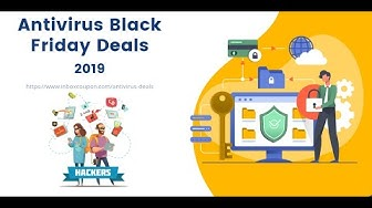 Best Antivirus Black Friday Deals 2019 - Mega Lists with Discount Codes