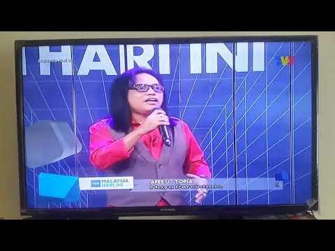 Afee Utopia The Legend Live at MHI TV3 27.9.17 Maya Percintaan..