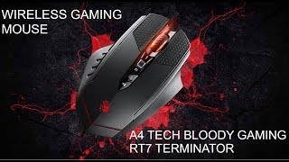 Bloody RT7 Terminator A4Tech gaming mouse unboxing and specification