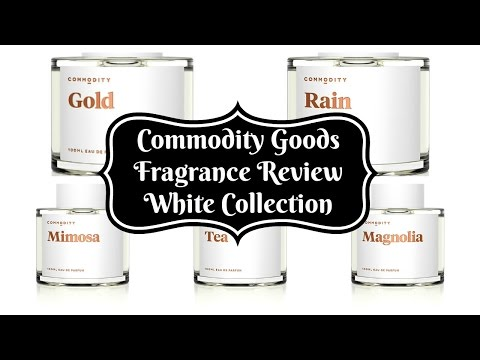 Fragrance Review - Commodity Goods - White Collection