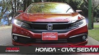 Honda Civic Sedán a prueba - CarManía (2019)