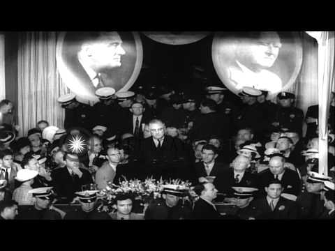 President Franklin D. Roosevelt addresses the Democratic National Convention duri...HD Stock Footage