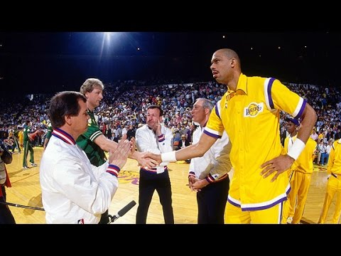 the 1985 championship game between the los angeles lakers and the boston celtics