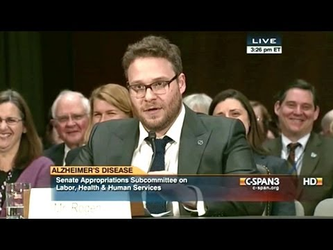 Seth Rogen Peeved By US Senators Who Ducked Out On His Alzheimer
