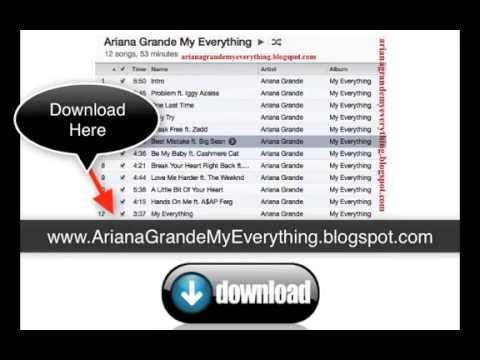 New Ariana Grande My Everything Album Download