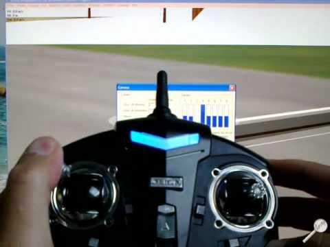 Align AT 100 (T-rex 100) - Réglages / Settings + Flight Model Simulator 2 - MM