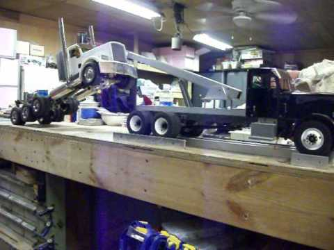 Rc Tow Truck Test 2 Youtube
