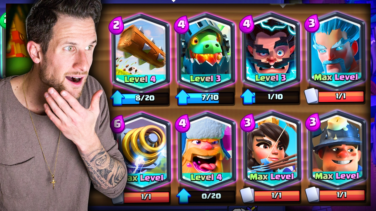 ALL LEGENDARY DECK! • Clash Royale - YouTube