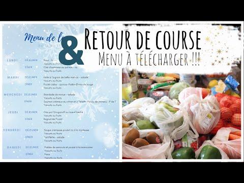 retour-de-course-auchan-11-janvier-2021,-menu-à-télécharge-et-recettes-!!