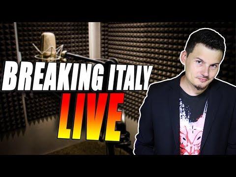 Breaking Italy LIVE! - Lamentela iniziale, chiacchiere varie poi