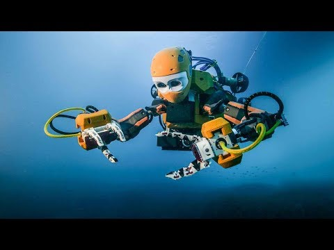 WEP2018 TV: The Age of Human-Robot Collaboration: Deep Sea Exploration