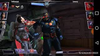 Injustice mobile gameplay