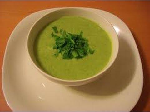 Очень вкусный и полезный картофельный суп пюре с брокколи