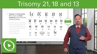 Download Video Chromosomal Abnormalities: Trisomy 21,18 & 13 – Embryology | Lecturio MP3 3GP MP4