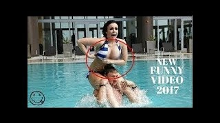 Girls Epic Pool Fail Compilation
