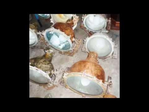 SEA MARINE  ENTERPRISE @ Nautical antiques items & vintage lights