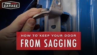 How To Keep Your Door From Sagging