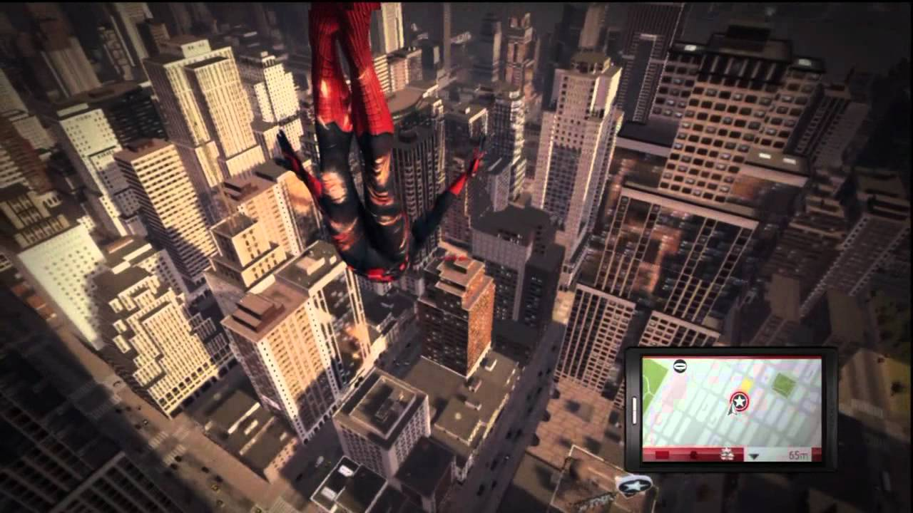 the amazing spider man le jeu vido incroyable