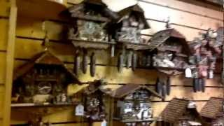 Black Forest Cuckoo-clock Tour-germany Titisee