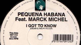 Pequena Habana - I_Got_To_Know_Original_Mix