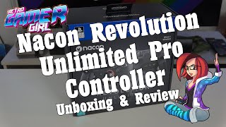 Nacon Revolution Unlimited Pro Controller Review & Unboxing | Retro Gamer Girl