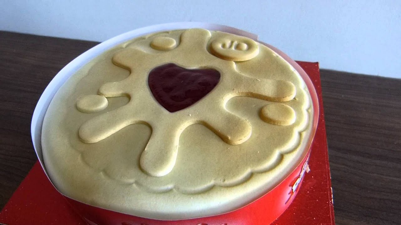 Start Licensing Jammie Dodgers Celebration Cake