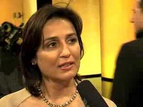 Sandra Maischberger - Goldene Kamera 2008 - Aftershow
