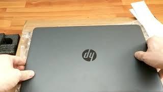 HP 250 G6 Celeron N3060 unboxing