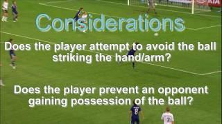 Referee Refresher - Hand Ball