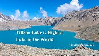 Tilicho Lake Highest Lake in the World.