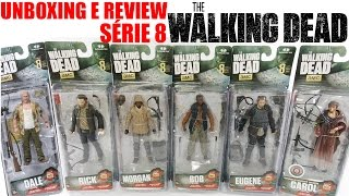 Review Série 8 - The Walking Dead TV SERIES - McFarlane Toys - bonecos brinquedo juguetes