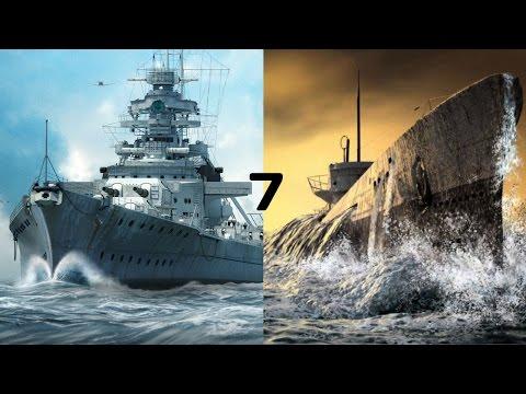 7 лучших игр про военно-морской флот