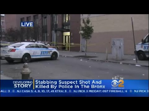 Stabbing Suspect Shot And Killed By Police In The Bronx