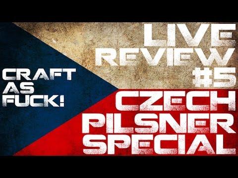 Live Review #5 | Czech Pilsner Special # 1 | w/ Dean, Craig & Michael