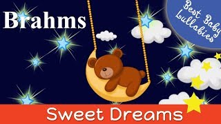 BRAHMS LULLABY for Babies 2 HOURS Soft Music Lullabies To Put A Baby Toddlers Childrens Sleep Music