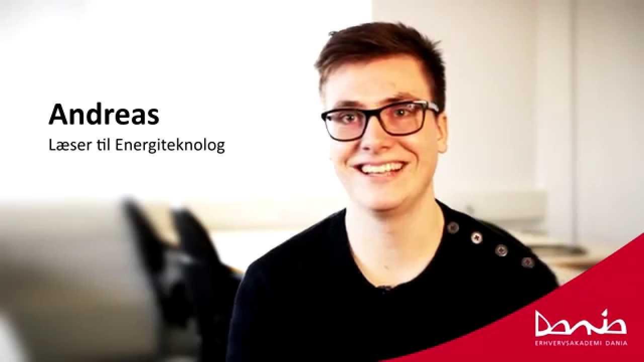 Andreas læser til Energiteknolog