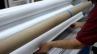 Fellers Techs Seal Laminator Threading Technique
