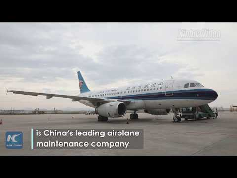 Visiting China's leading airplane maintenance base