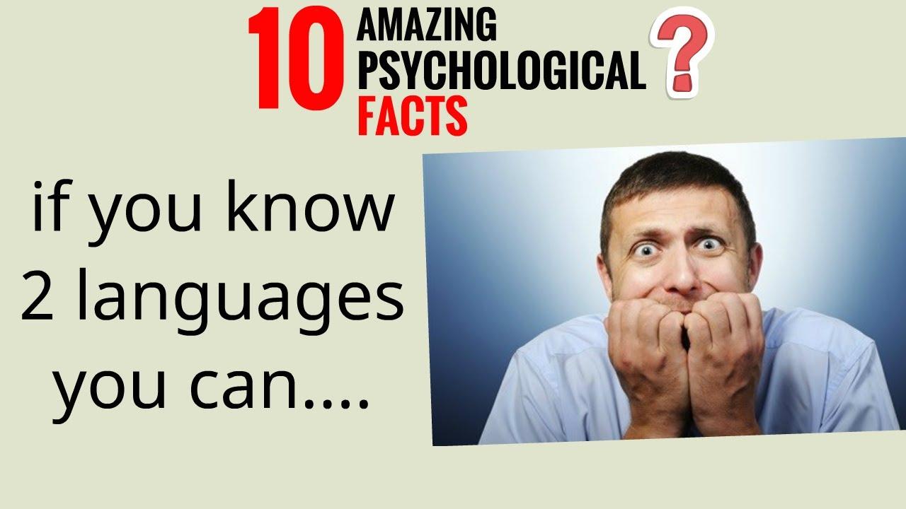if you know 2 languages you can......Psychological facts (Hindi) | 10 सबसे अद्भुत मनोवैज्ञानिक बाते