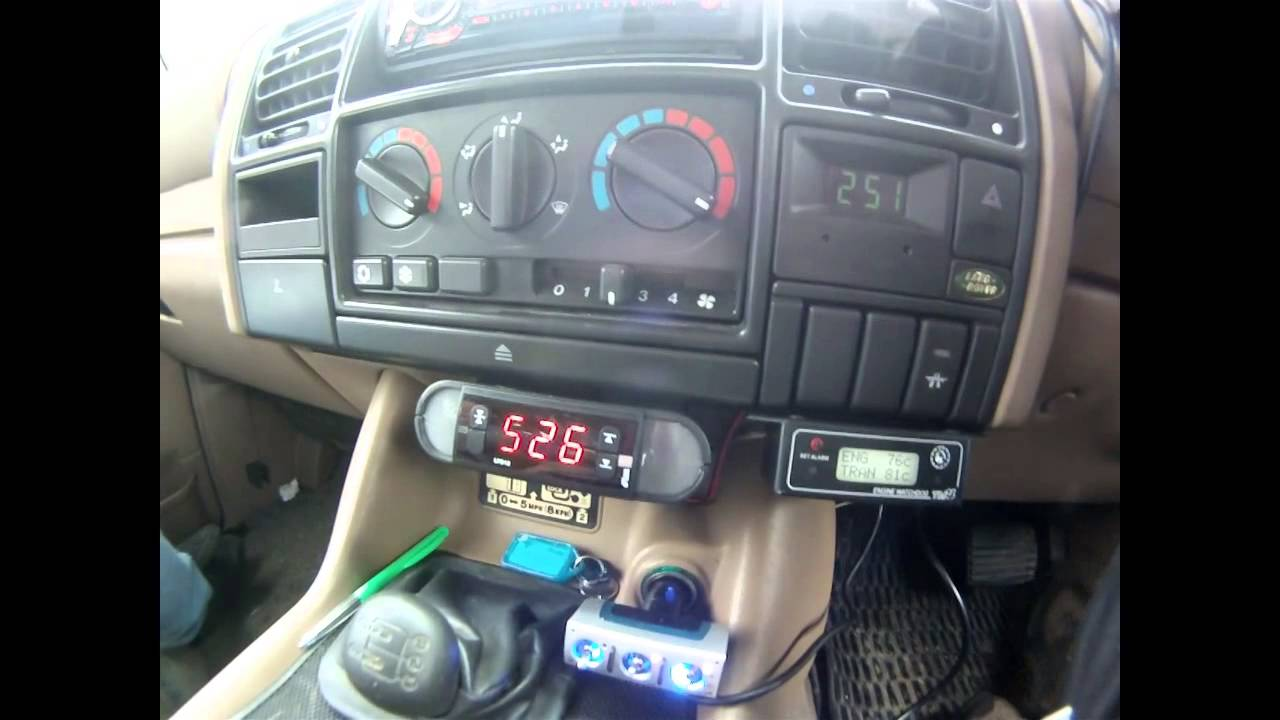 land rover discovery 300 tdi turbo boost gauge