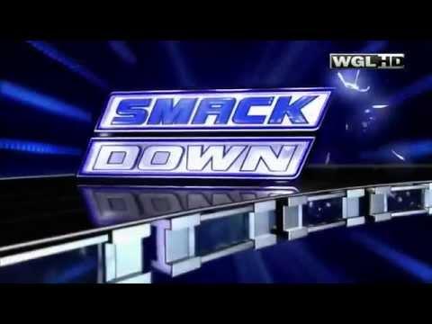 WWE SmackDown intro 2010-2012
