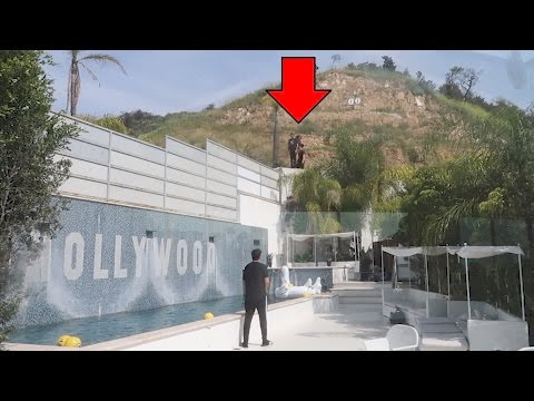 PARKOUR IN THE HOLLYWOOD HILLS