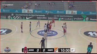 U16M-Cpto.España: BASKET ZARAGOZA vs OBRADOIRO.- Cpto. Cadete Masc. FEB-San Fernando (Cádiz) 2021