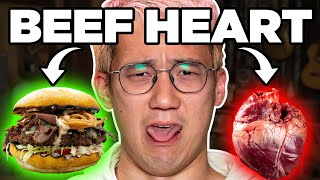 Download We Make Buzzfeed's Steven Lim Eat Beef Heart | FOOD FEARS Mp3 and Videos