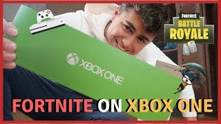 BUYING AN XBOX ONE TO PLAY FORTNITE! (Battle Royale)