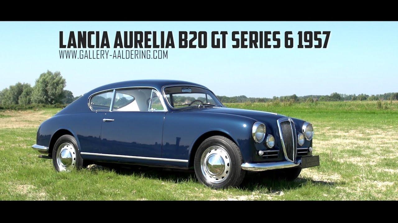Lancia aurelia b20 gt 6th series 1957 gallery aaldering tv lancia aurelia b20 gt 6th series 1957 gallery aaldering tv youtube vanachro Choice Image